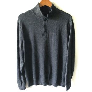 American Eagle mock neck pullover sweater